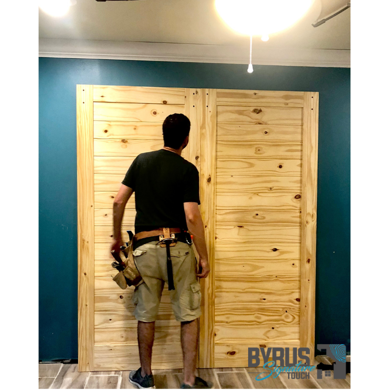 Double Barn Doors Greg Byrus
